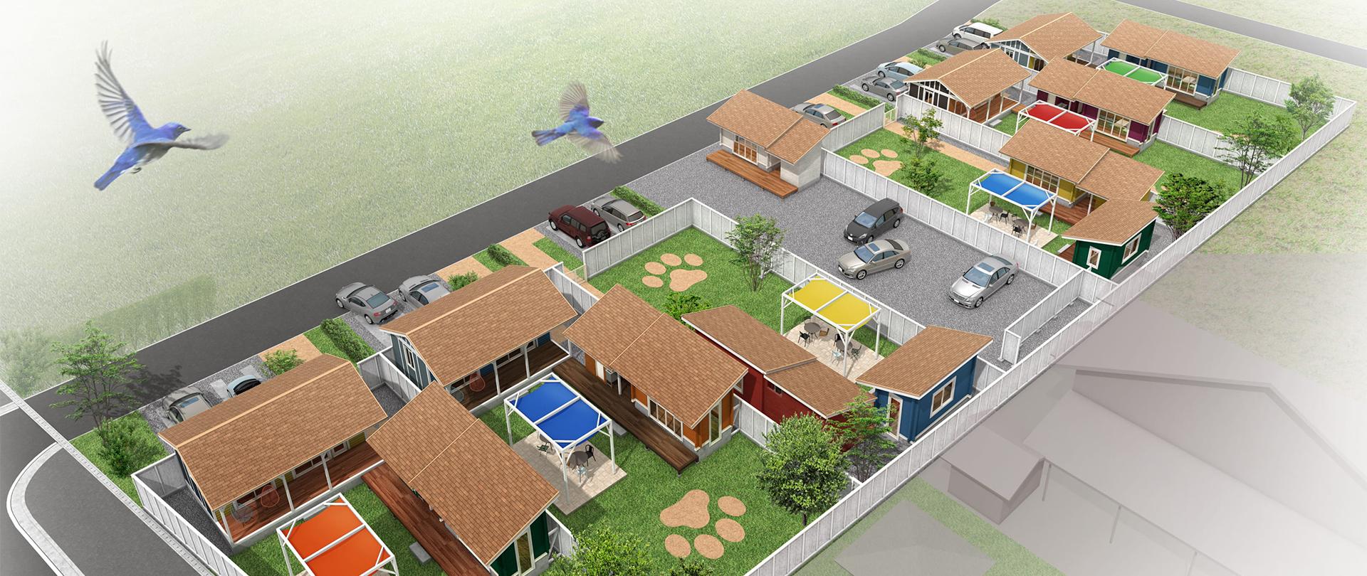ドッググランピング滋賀高島イメージ
